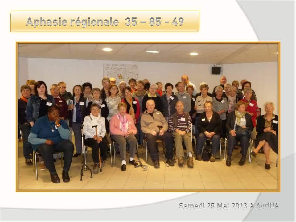 Rencontre régionale du 25 mai à Avrillé.