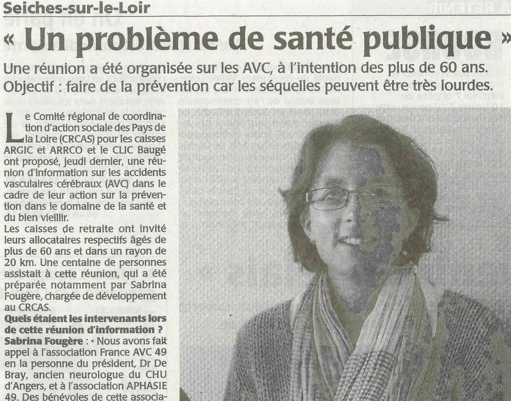 Réunion d'Information sur les AVC