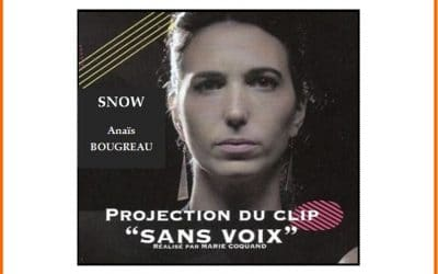 Projection du clip « Sans voix »